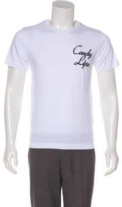 Tim Coppens Embroidered Short Sleeve T-Shirt