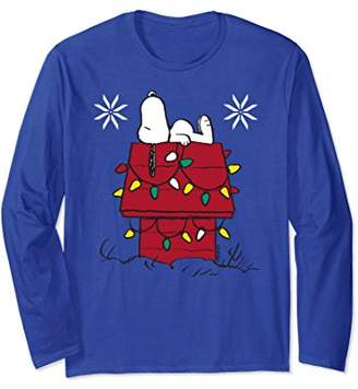Peanuts Snoopy Lights Just Chillin Long Sleeve T-shirt