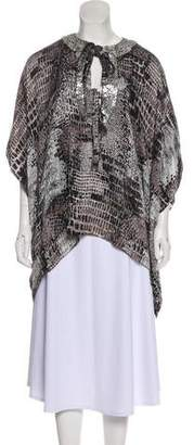 Andrew Gn Silk Embellished Top