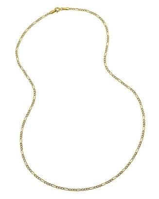 Fashion World 9 Carat Gold 18inch Figaro Chain
