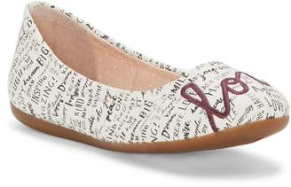 ED Ellen Degeneres Langlee Embroidered Ballet Flat