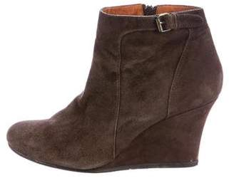 Lanvin Wedge Ankle Boots