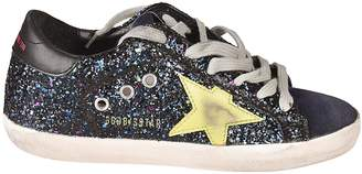 Golden Goose Glittered Superstar Sneakers