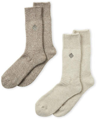 Columbia 2-Pack Wool-Blend Fleece Socks