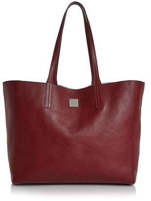 MCM Wandel Medium Reversible Leather Shopper