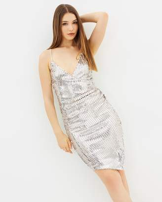 Lipsy Saturday Night Sequin Body-Con Dress