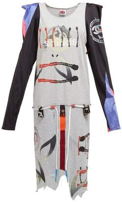 Noki - Cartoon Screen Printed Cotton And Lycra Dress - Womens - Multi