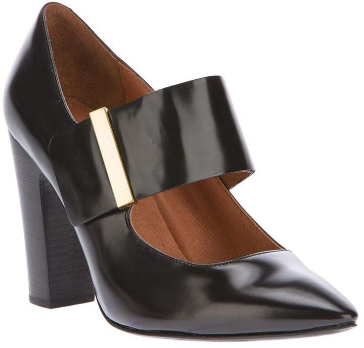 See by Chloe chunky heel pump