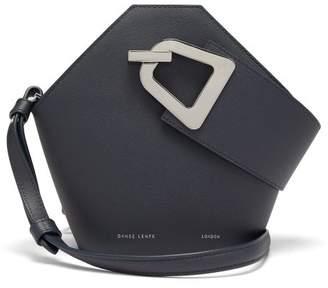 Lente Danse Mini Johnny Leather Shoulder Bag - Womens - Navy