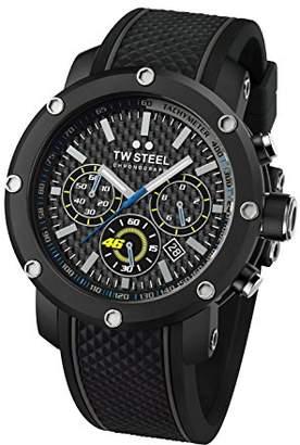 TW Steel Unisex TW937 VR46 Analog Display Quartz Black Watch