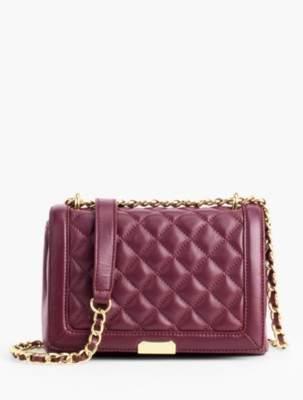 Talbots Quilted Chain-Strap Handbag