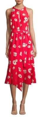Derek Lam Belted Asymmetric Dress