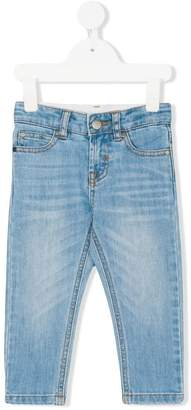 Stella McCartney Lohan Skull embroidery jeans
