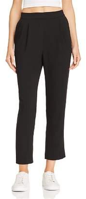Aqua Slim Pleated Pants - 100% Exclusive
