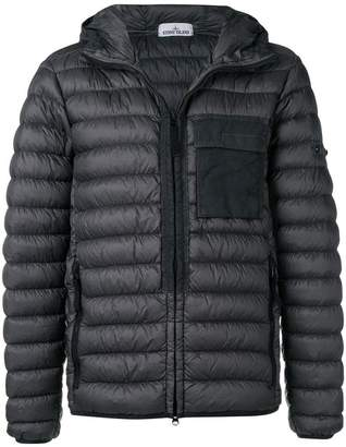 Stone Island zipped padded jacket