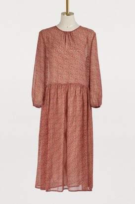 Vanessa Bruno Long-sleeved midi dress