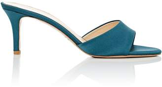 Barneys New York Women's Satin Mules
