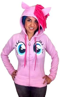 My Little Pony ie Pie Face Juniors Costume Hoodie with Mane