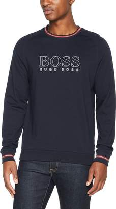 HUGO BOSS BOSS Authentic Logo Sweat Top in L