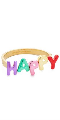 Kate Spade New York Whimsies Happy Bangle Bracelet $108 thestylecure.com