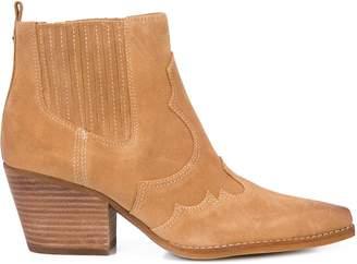 Sam Edelman contrast stitch boot