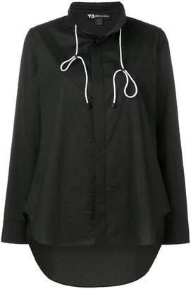 Y-3 high low shirt