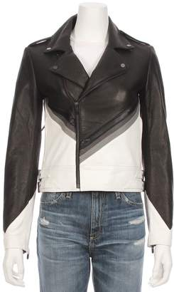 Moto THE MIGHTY COMPANY The Vienne Leather Suede Jacket