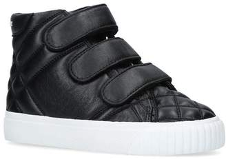 Burberry Leather Sturrock Sneaker Booties