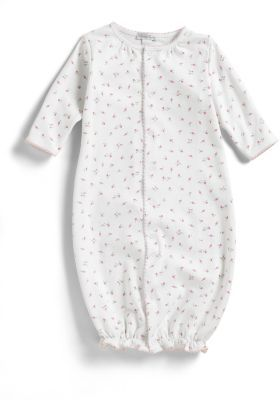 Kissy Kissy Infant's Garden Rose Print Convertible Gown $39 thestylecure.com