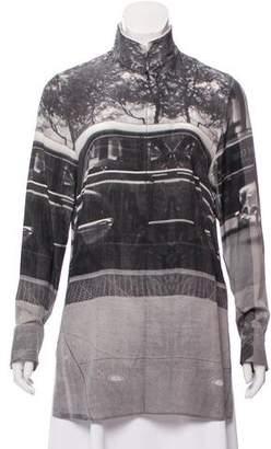 Akris Printed Silk Tunic w/ Tags