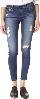 AG Legging Ankle Jeans $225 thestylecure.com