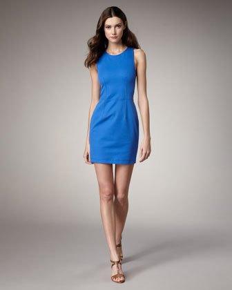 Theory Bi-Stretch Sheath Dress