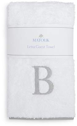 Matouk Letra Monogram Guest Towel - 100% Exclusive
