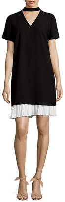 Nanette Lepore Nanette Choker Shift Dress