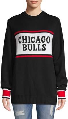 Hillflint Bulls Stockboy Crewneck Sweater