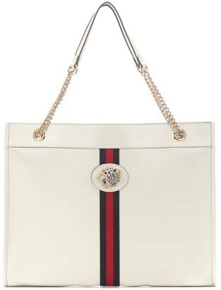 771c99e7e92f Gucci White Leather Tote Bags - ShopStyle