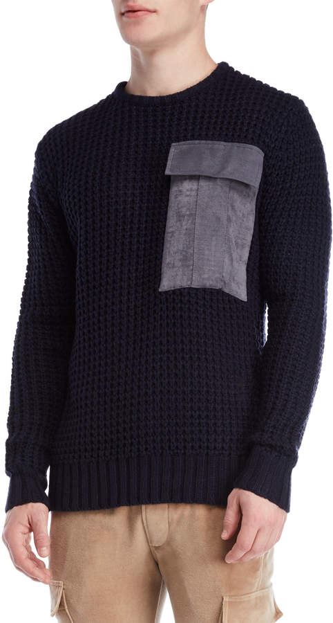 Religion Shield Knit Sweater