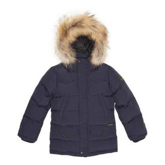 Finger In The Nose Sale - Snowmoose Fur Down Jacket