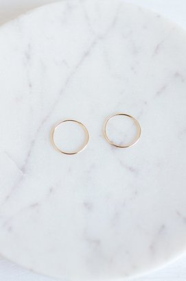 Lily Ashwell Gold Hoop Earring