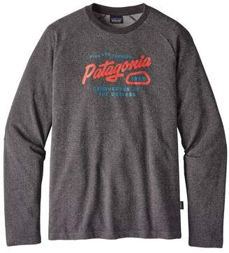 Patagonia Men's Splitter Script Lightweight Crew Sweatshirt