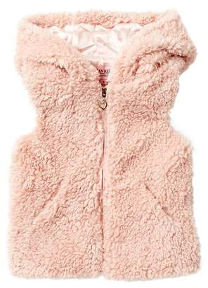 Urban Republic Woobie Faux Fur Vest (Toddler & Little Girls)