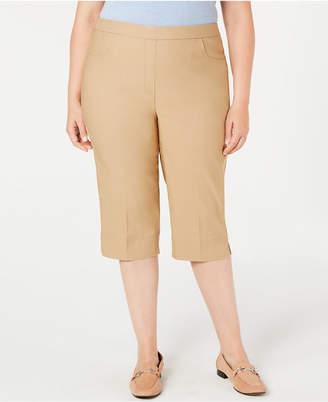 Alfred Dunner Plus Size Classic Capri Pants