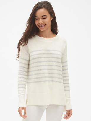 Gap Stripe Crewneck Pullover Sweater Tunic