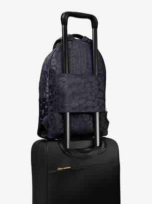 922e4fc74dd9 MICHAEL Michael Kors Kelsey Large Leopard Nylon Backpack