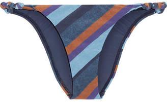 Chambray Rope Striped Bikini Briefs - Blue Vix With Mastercard Cheap Online 7TXQI
