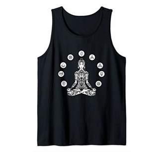 Yoga elements Yogi Woman Geometric Indian Buddha Yogi Gift Tank Top