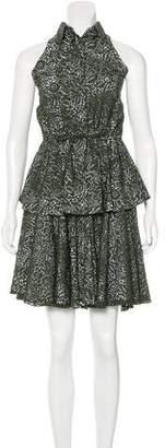 Alaia Laser-Cut Skirt Set