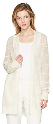 Calvin Klein Women's Long Sleeve Lurex Cardigan