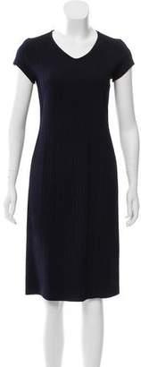 Armani Collezioni Patterned Knee-Length Dress