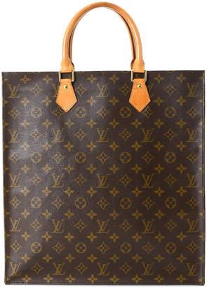 Louis Vuitton Sac Plat Monogram Tote Bag - Vintage